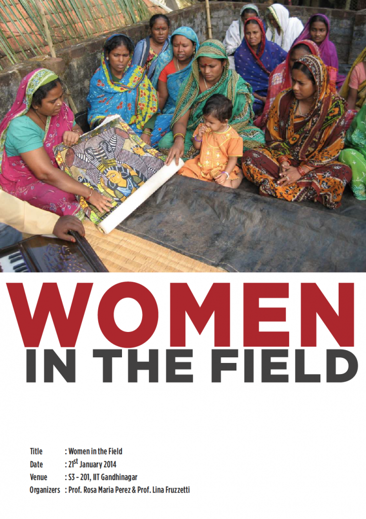Women in the Field, Rosa Maria Perez & Lina Fruzzetti, IIT Gandhinagar