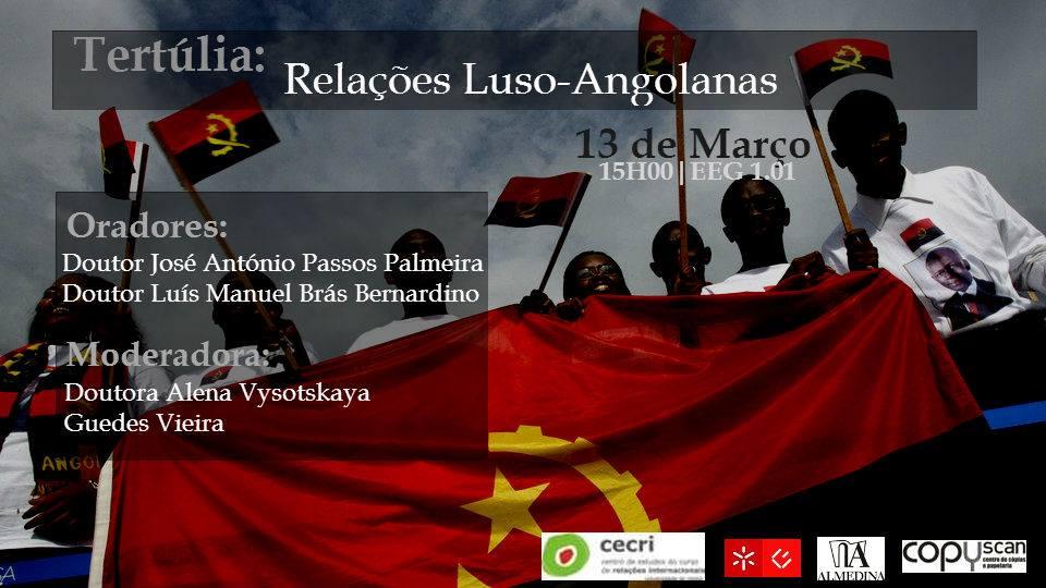 Cooperação Portugal-Angola na vertente militar – Universidade do Minho – 13 Março 2014