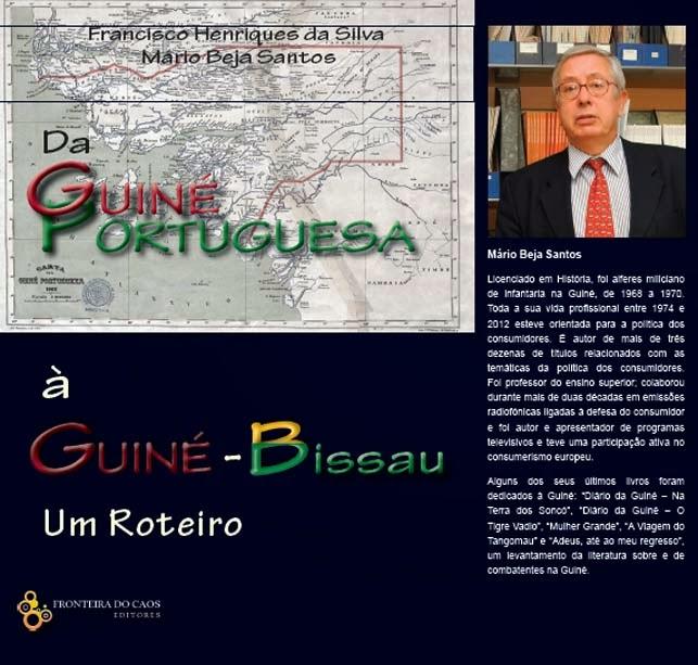 """""""Da Guiné Portuguesa à Guiné-Bissau: Um Roteiro""""  Sessão de apresentação no Palácio da Independência, 9 de Abril, pelas 18h"""