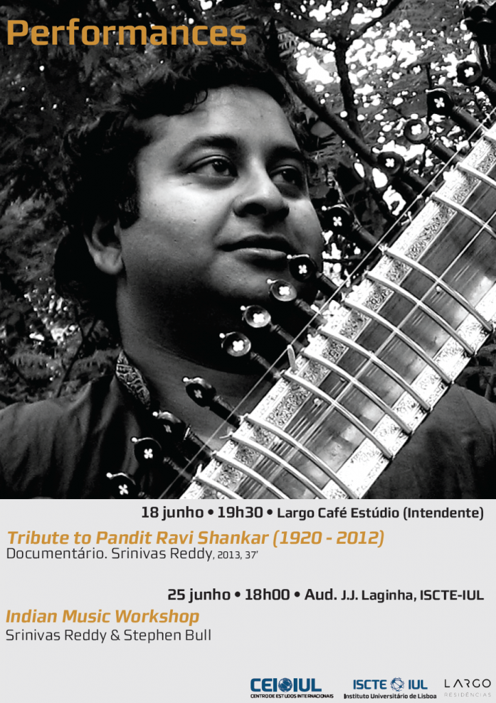 "Performances | Documentário ""Tribute to Pandit Ravi Shankar (1920-2012)"", (Srinivas Reddy. 37′, 2013)"