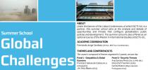 Summer School Global Challenges (Specialisation Seminar on Global Challenges)