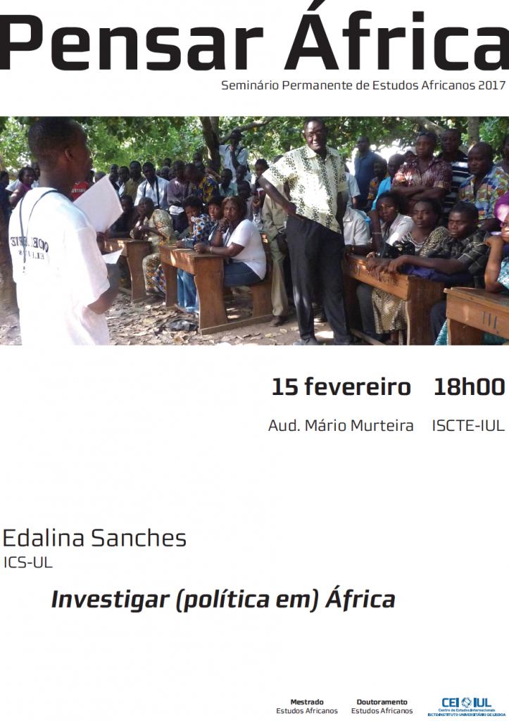 Pensar África – Investigar (política em) África