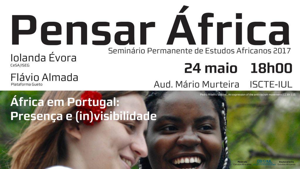 24 MAI | Pensar África – África em Portugal: Presença e (in)visibilidade
