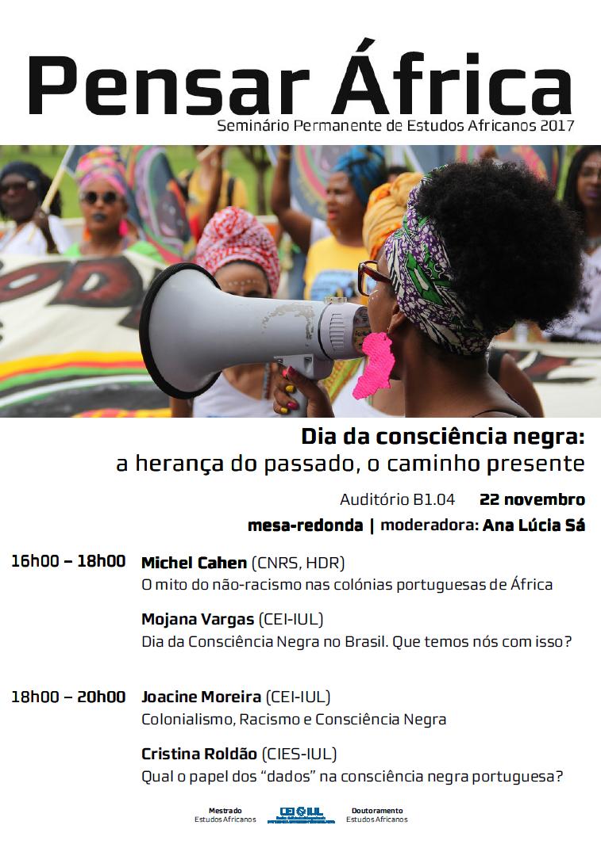 Pensar África | Dia Nacional da Consciência Negra