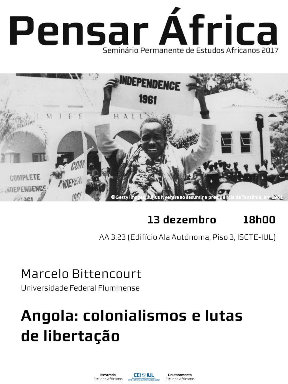 Pensar África | Angola: colonialismos e lutas  de libertação