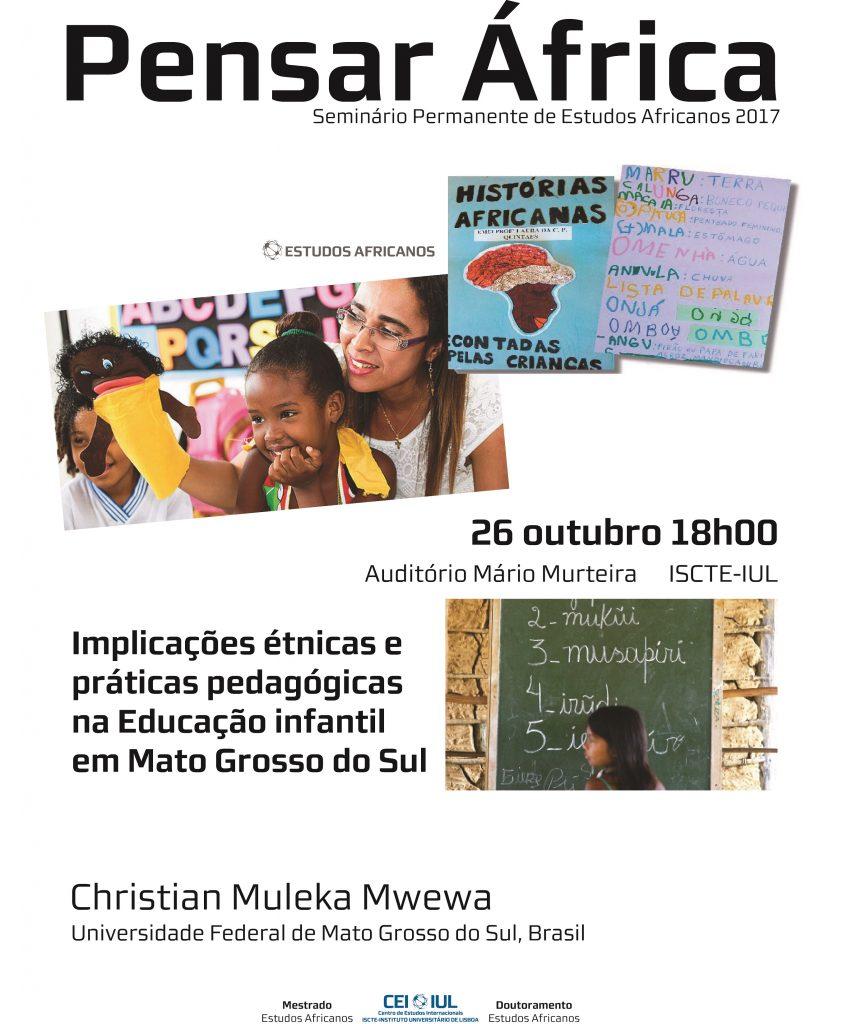Pensar África: Implicações étnicas, práticas pedagógicas na educação infantil em Mato Grosso do Sul