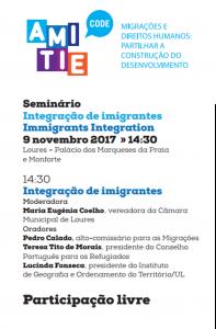 Seminário: Integração dos Imigrantes