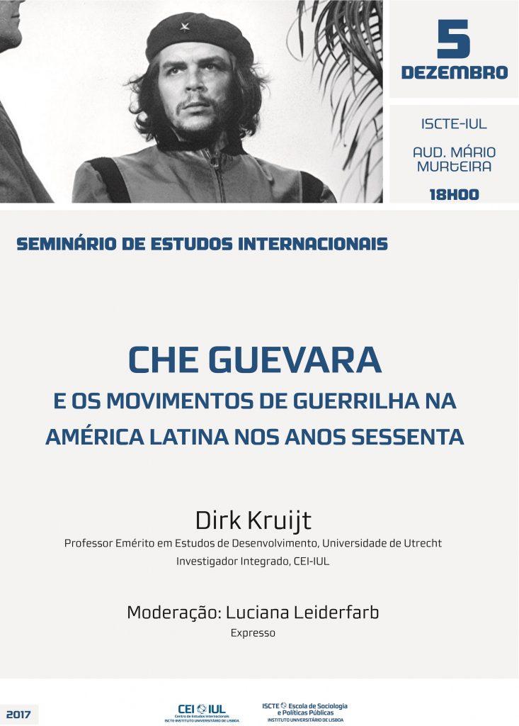 Che Guevara e os movimentos de guerrilha na America Latina nos anos sessenta