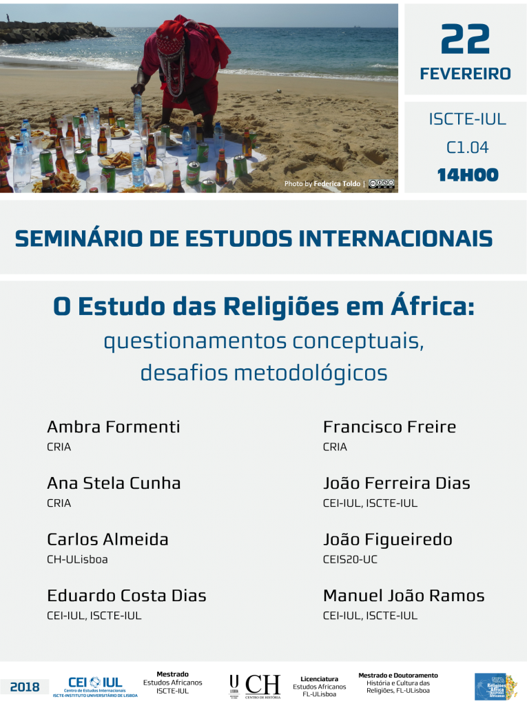O Estudo das Religiões em Africa – Questionamentos conceptuais, desafios metodológicos