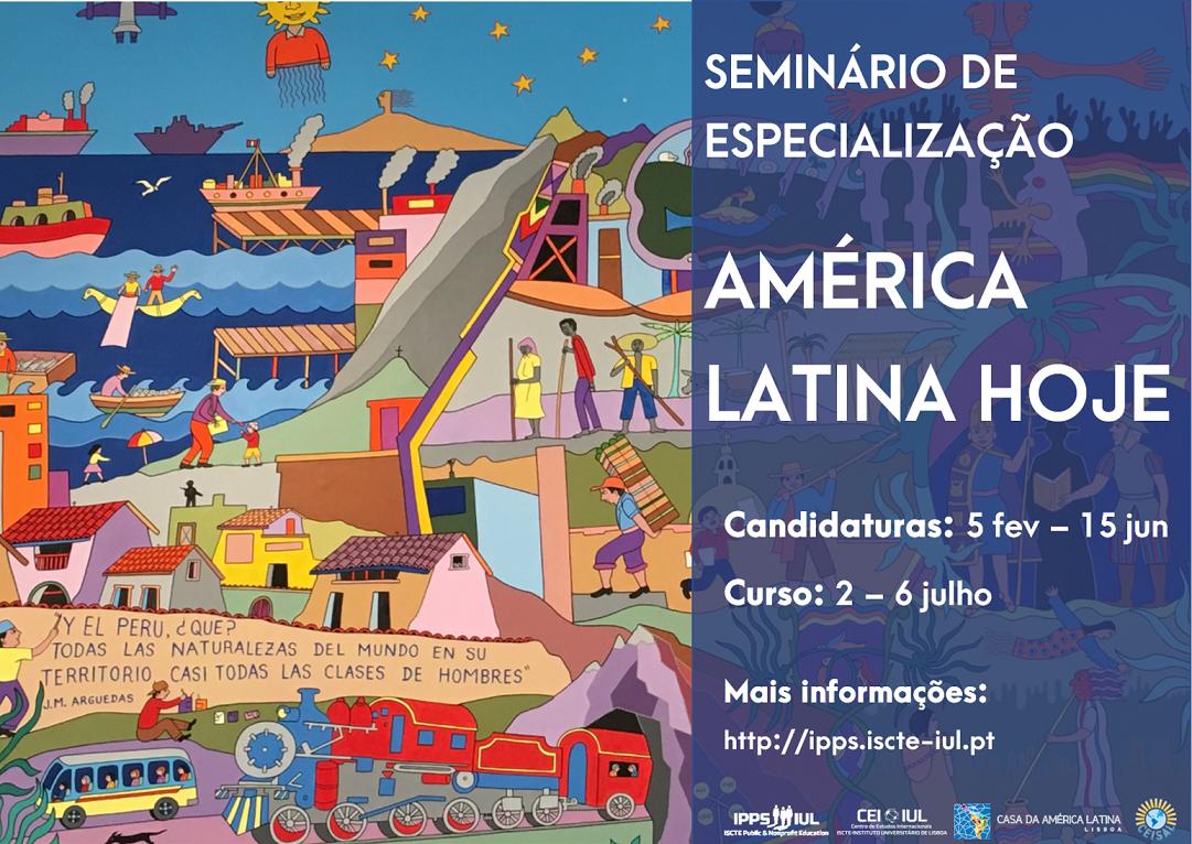 """Estão abertas as candidaturas para o curso de verão """"América Latina Hoje"""""""