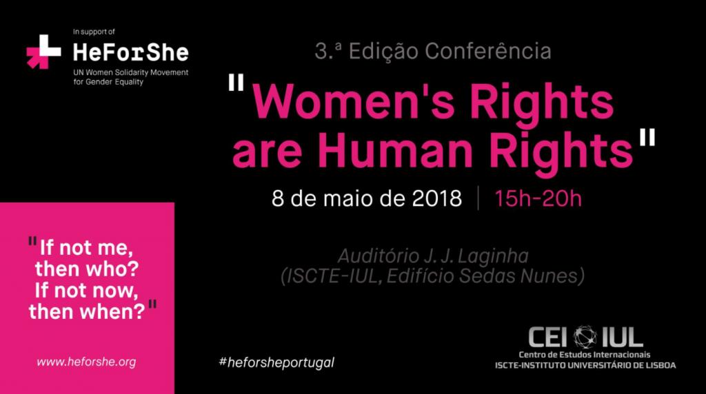 3ª Conferência Women's Rights are Human Rights