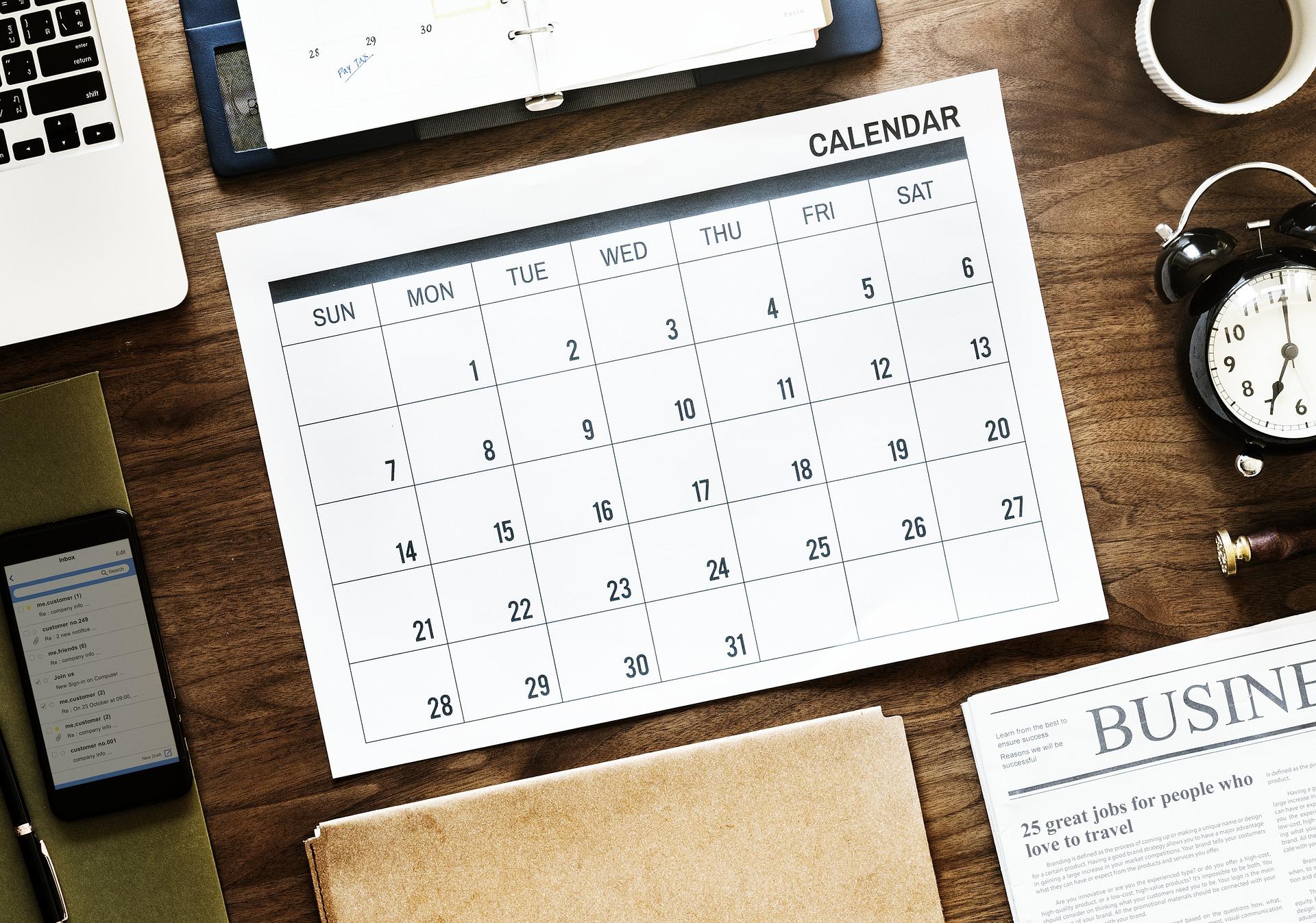 Agenda de Eventos de 8 a 14 de outubro
