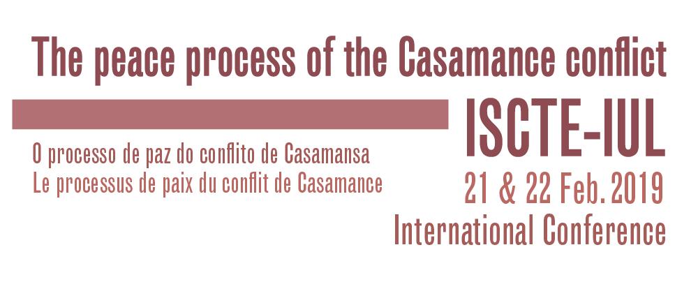 Conferência Internacional: Processo de paz do conflito de Casamansa