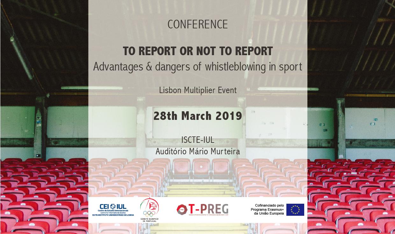 Denunciar ou não denunciar: vantagens e perigos em reportar irregularidades no desporto