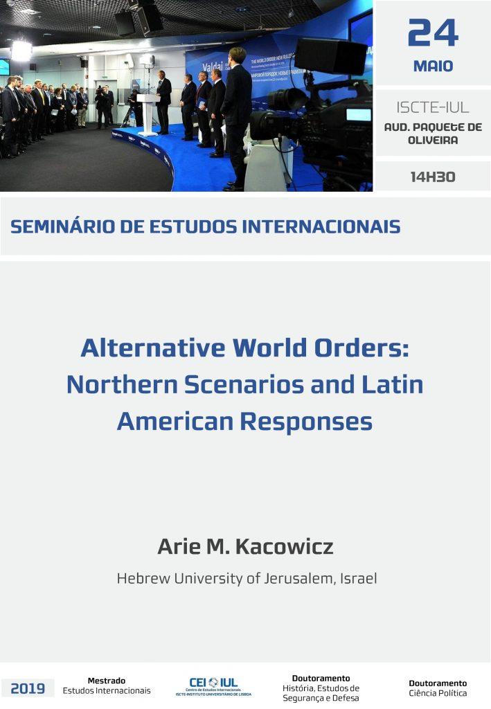 SIE | Alternative World Orders: Northern Scenarios and Latin American Responses