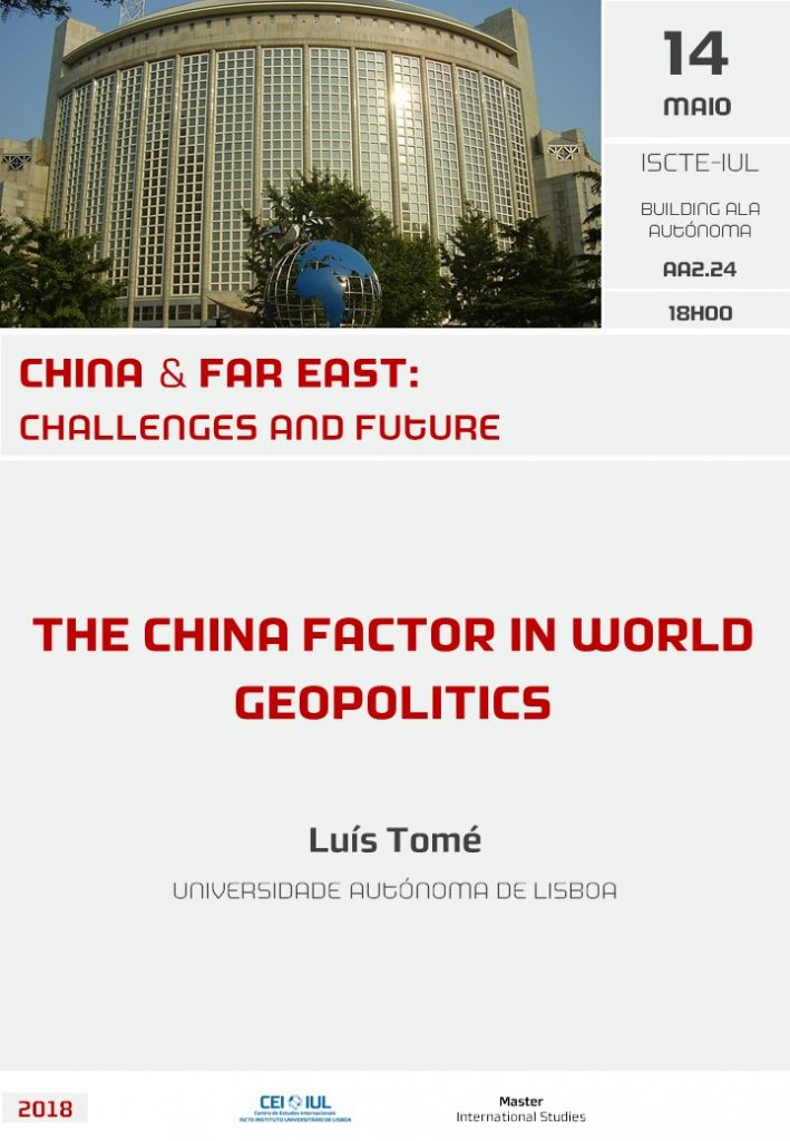The China Factor in World Geopolitics