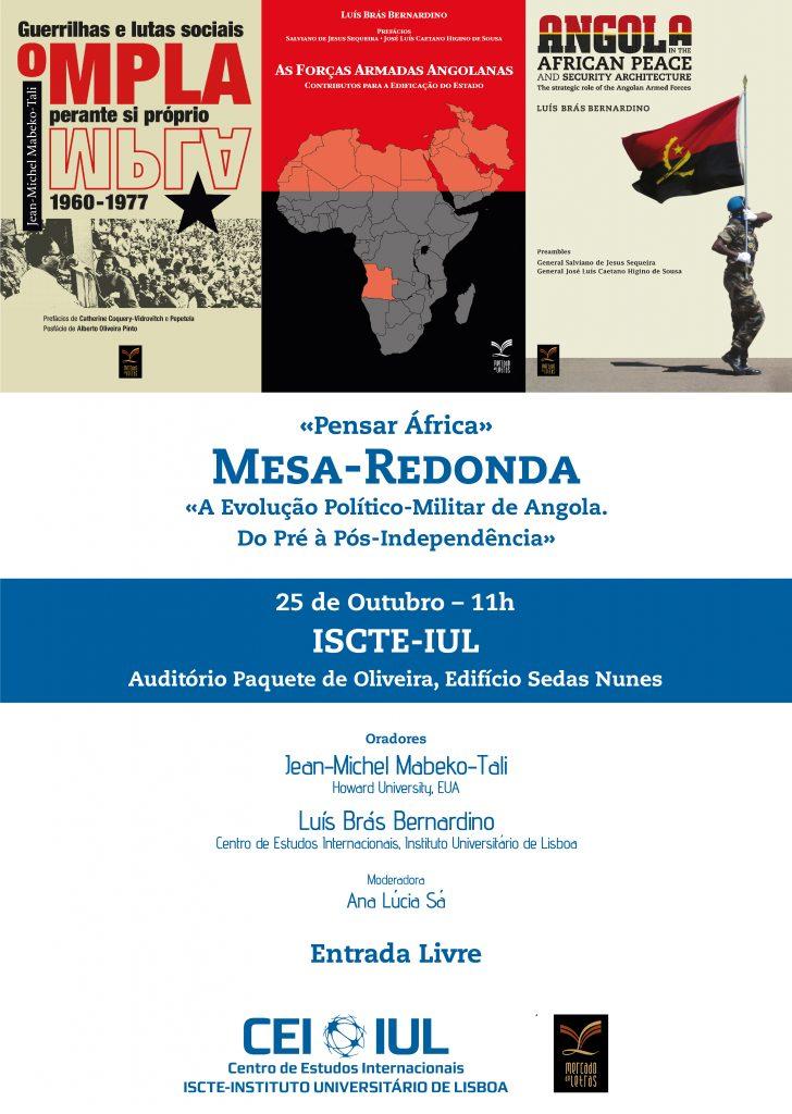 Apresentação de livro & Debate: Angola, perspectivas políticas e militares