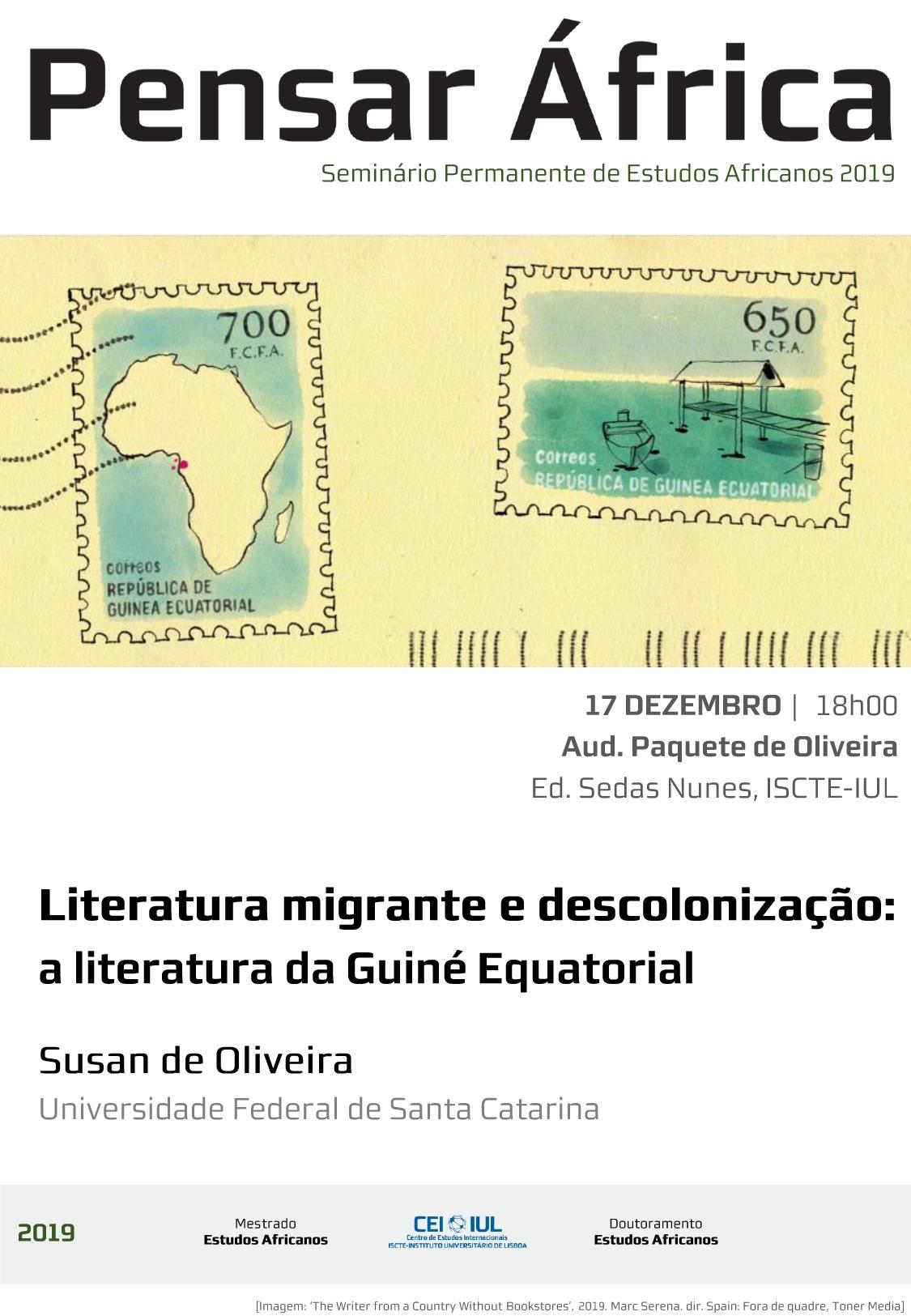 Pensar África: Literatura migrante e descolonização