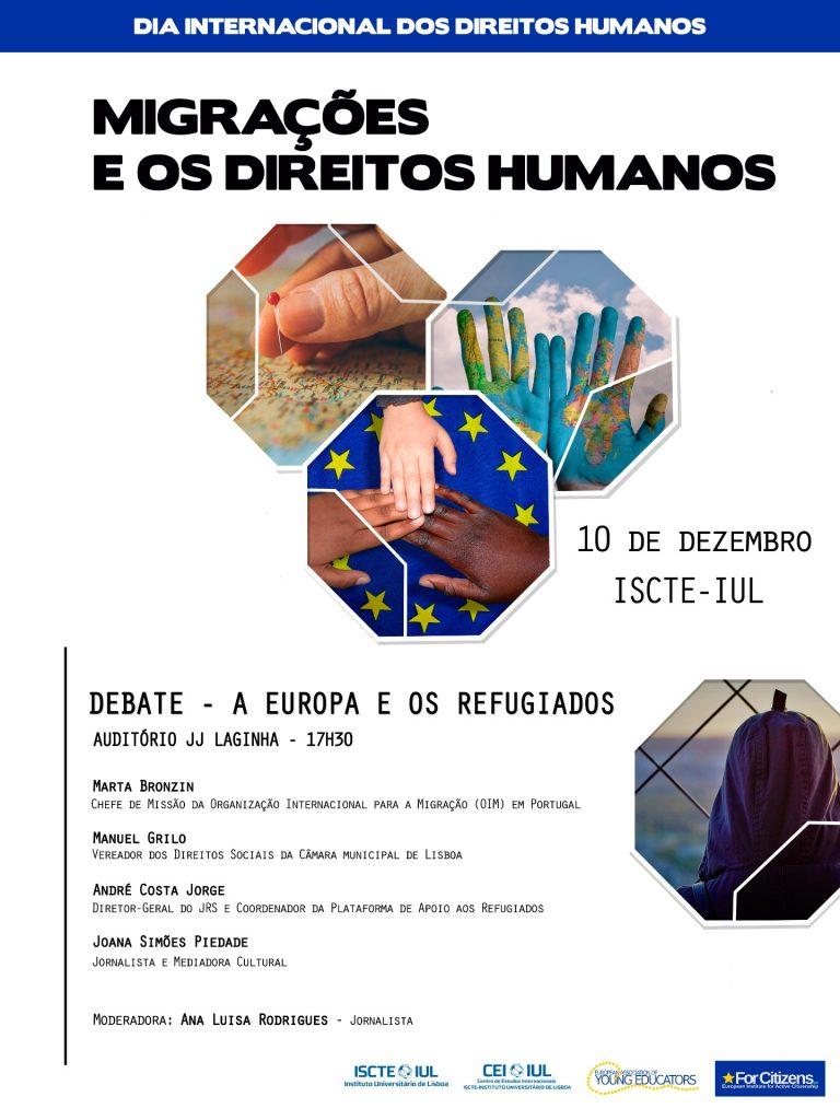 Conferência Dia Internacional dos Direitos Humanos: Migrações e os Direitos Humanos