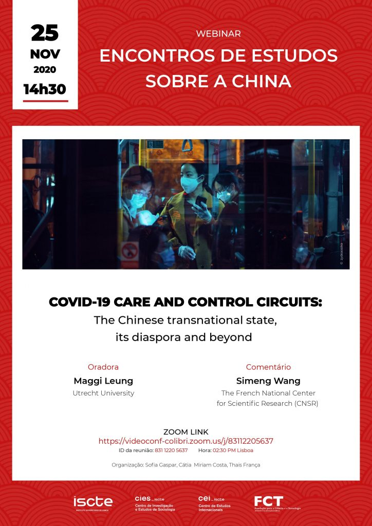 COVID-19 care and control circuits: The Chinese transnational state, its diaspora and beyond