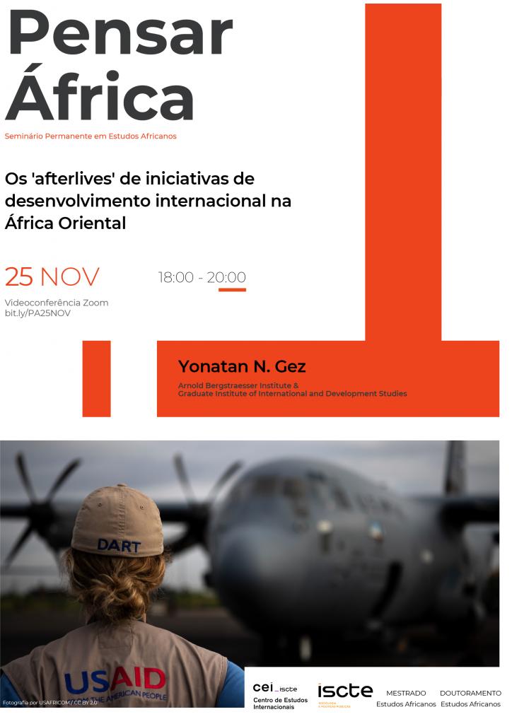 Pensar África: Os 'afterlives' de iniciativas dedesenvolvimento internacional naÁfrica Oriental