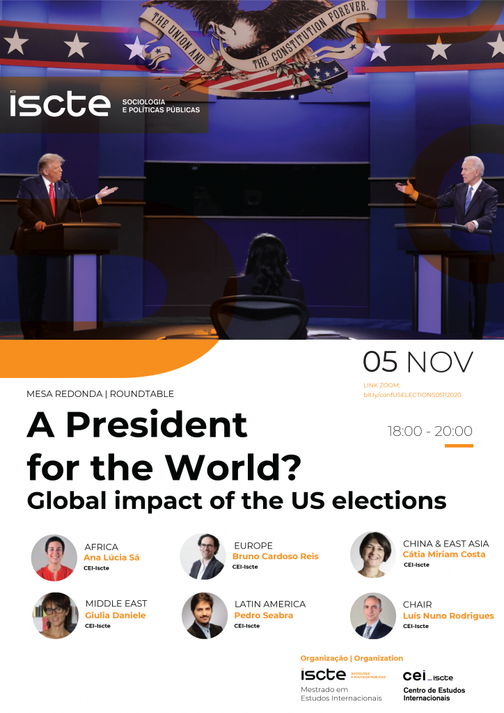 5 NOV | Roundtable: A President for the World? Global impact of the US elections