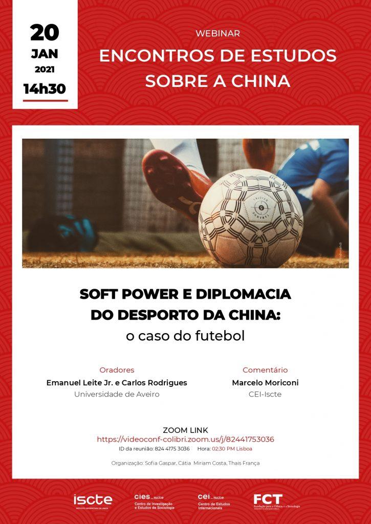 Soft Power e diplomacia do desporto da China: o caso do futebol