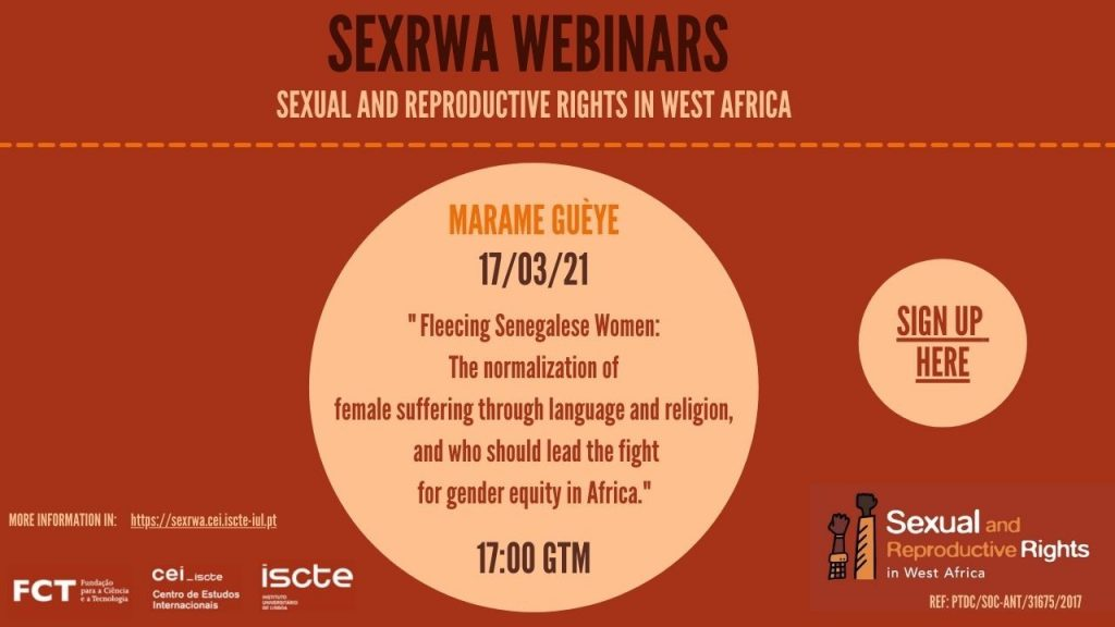 Webinar: Fleecing Senegalese Women